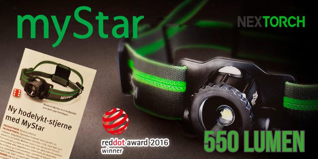 Nextorch myStar hodelykt testet av Jakt& Fiske