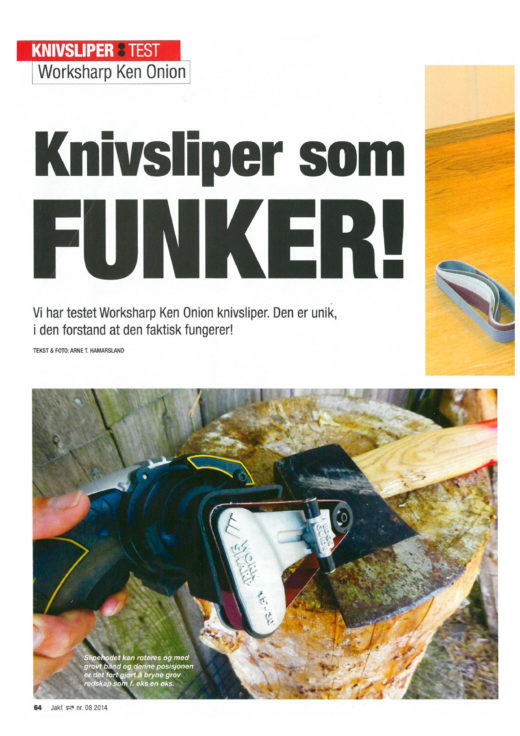 Test av Worksharp knivsliper