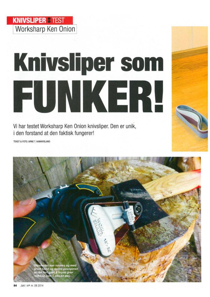 Test av Worksharp knivsliper